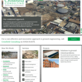 Crossfield Consulting – website copy